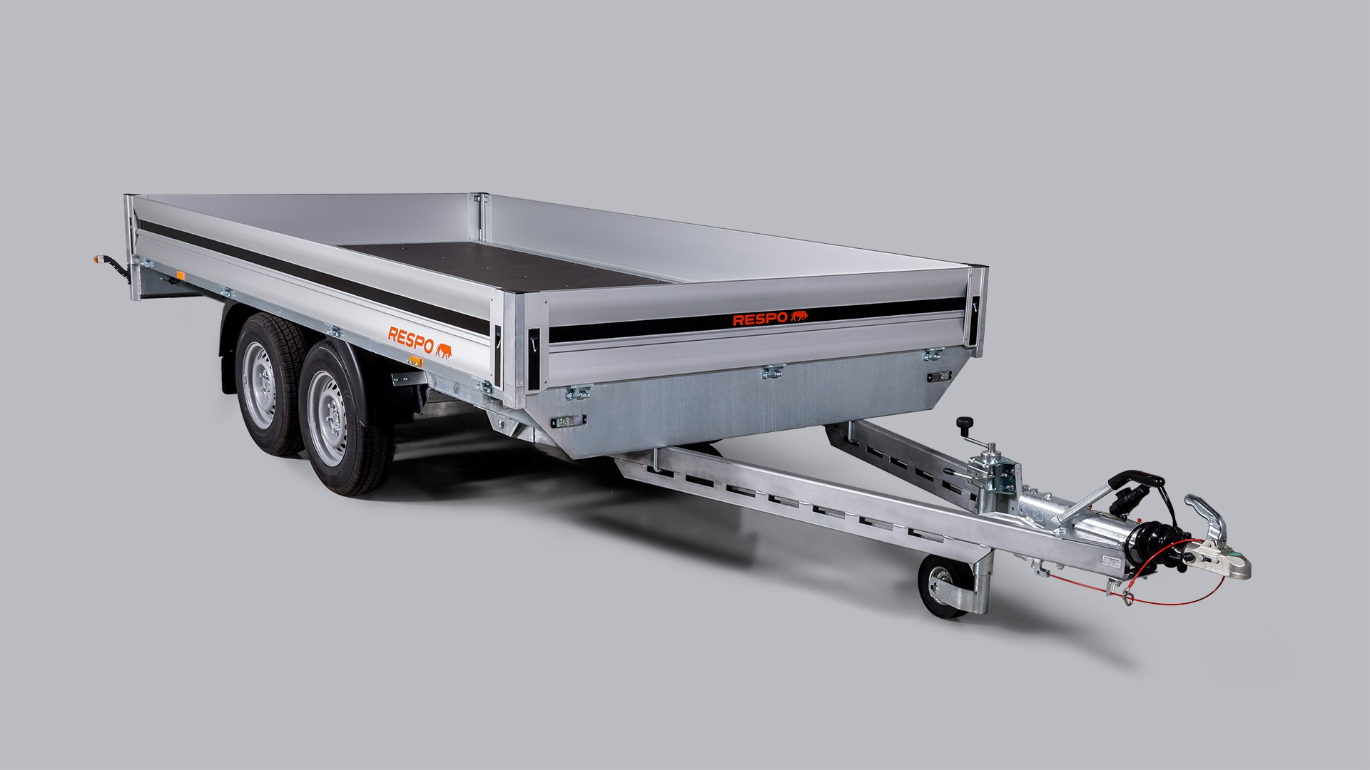Respo Mesh Side Extensions for Flatbed trailers