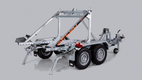 2700S442T210 Cable drum trailer