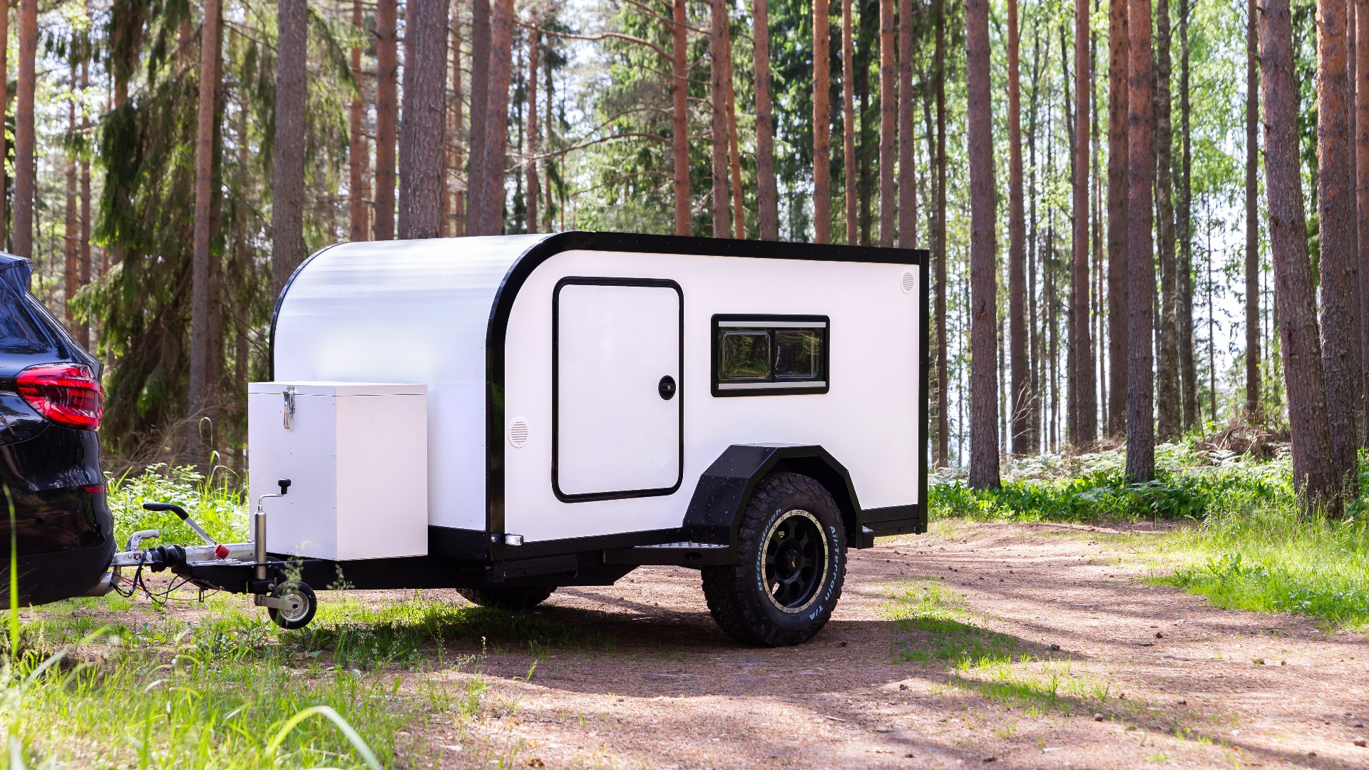 off-road mini-caravan